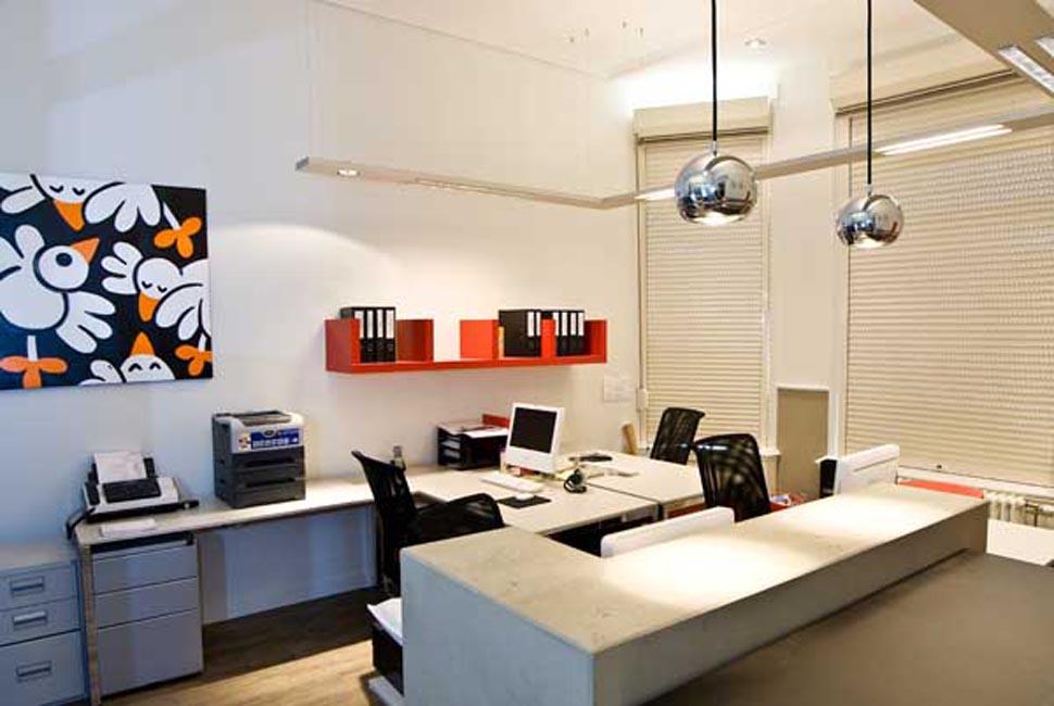 Interieur Verbouwing Hoekpand : Kantoor heemraadssingel u lennart otte interieur