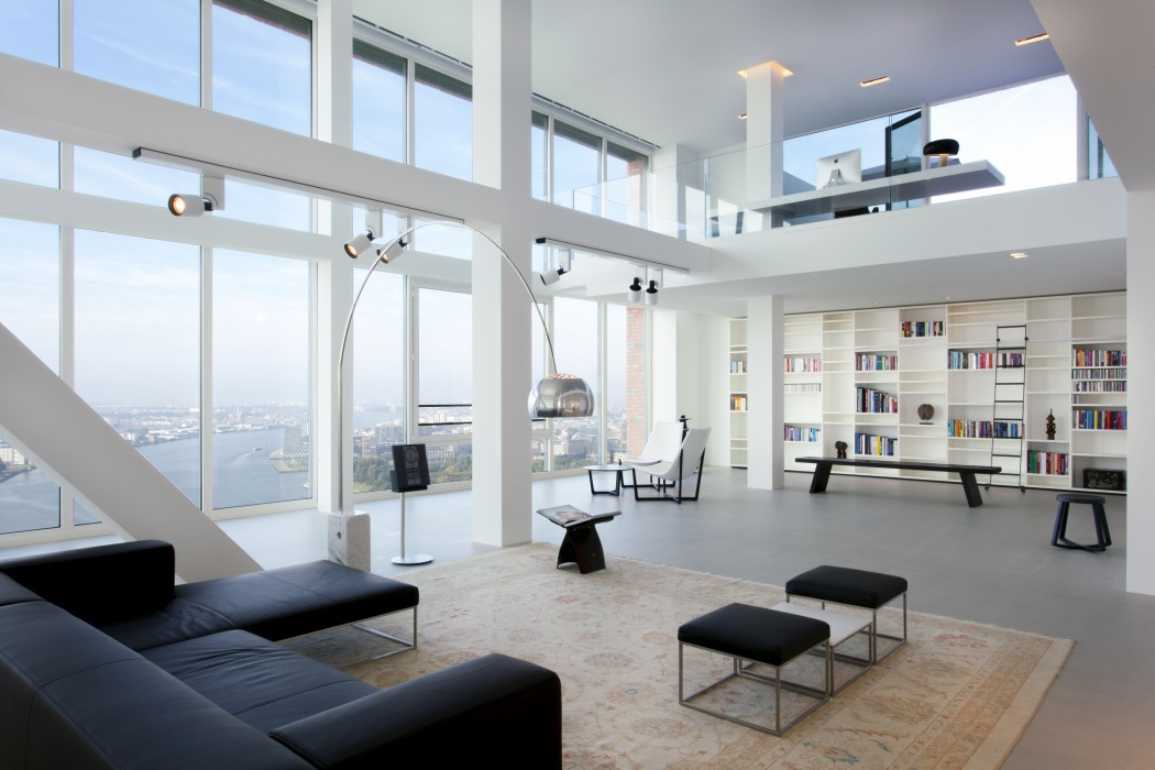 Interieur penthouse montevideo 2014 lennart otte interieur - Dachwohnung interieur penthouse ...